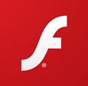 Logo des Adobe Flash Players